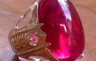 batu akik merah delima